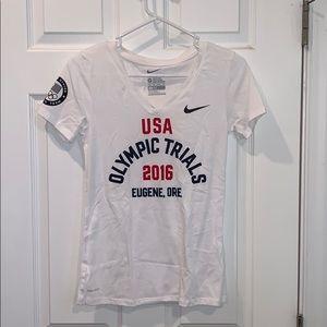 Nike Women's Dri-fit Olympic Trials t-shirt XS